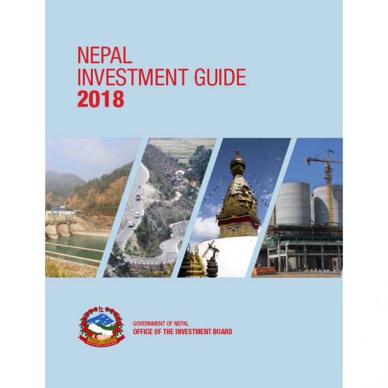 Nepal Investment Guide 2018 - English