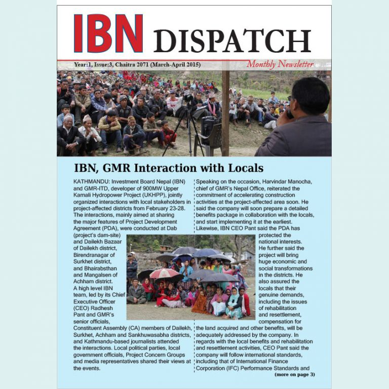 IBN Dispatch 03